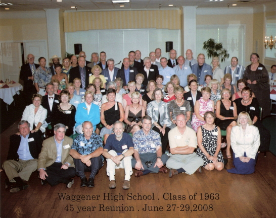 Waggener High School Class Of 1963, Louisville, KY